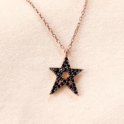 Zirkon Yıldız Kolye